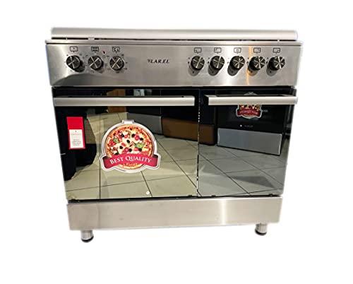 Cucina da 90x60 Lar.El forno a GAS con vano porta bombola 5 fuochi acc. elettrica