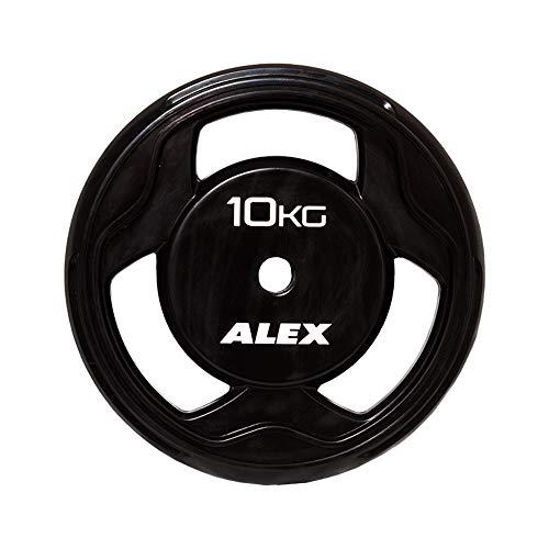 ALEX BPR ラバープレート 10Kg [穴径28mm]