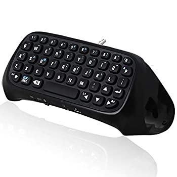 LittlePaprika Controller Keyboard for PS4 Gamers Digital Mini Bluetooth Keyboard Chatpad for Playstation 4 for DualShock Controller Used to Chat with Playes in Games
