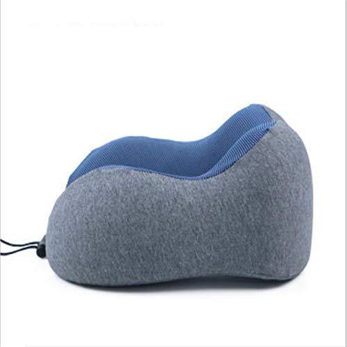 Qric Viajes de Placer en Forma de U de Memoria Almohada Vivienda Almohada de Espuma en Forma de U del Cuello Almohada for el Cuello