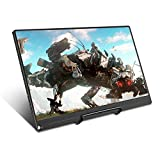 UPERFECT 13.3' Game Monitor Portable Computer USB C Monitor IPS Display Resolution 1920×1080 Support One Type-C Connecting HDR LED Screen Speakers HDMI OTG DP Xbox 360 PS4 Raspberry Pi PC Laptop Mac