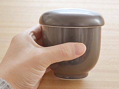 テーブルウェアイースト『EASTオリジナル茶碗蒸し黒マット(di-A1-1015-0)』