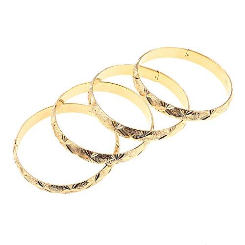 BR Gold Jewelry 4Äthiopische Braut Armreif Dubai Armband afrikanischen Arabischen Schmuck