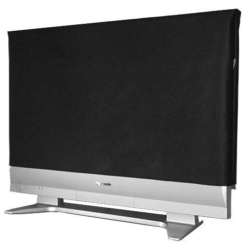 ROTRi reg; maßgenaue Staubschutzhülle für Fernseher - schwarz