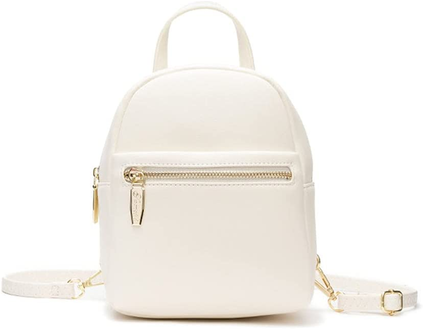 Women's Mini Backpack Purse Fashion Lightweight Leather Zipper Bags Travel Casual Small Shoulder Bag