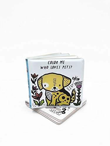 Color Me: Who Loves Pets? (Wee Gallery Bath Books)