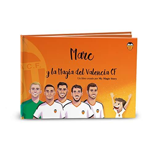 Libro infantil personalizado La Magia del Valencia CF de My Magic Story
