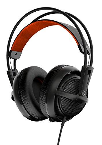 SteelSeries Siberia 200 - Auriculares para Juego, micrófono retráctil, gestión de Software, (PC/Mac/Playstation/Móvil), Negro