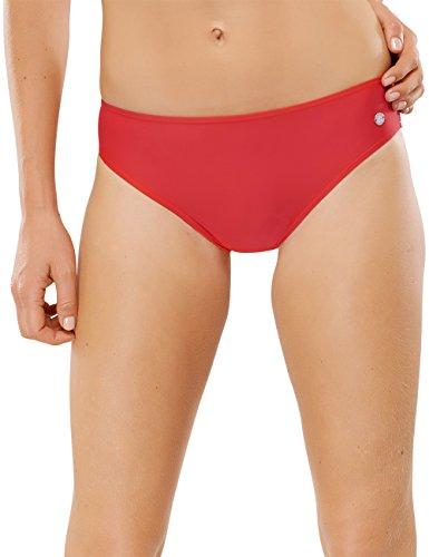 Schiesser Damen Bikini-Slip Bikinihose, Rot (rot 500), 46 (Herstellergröße: 046)