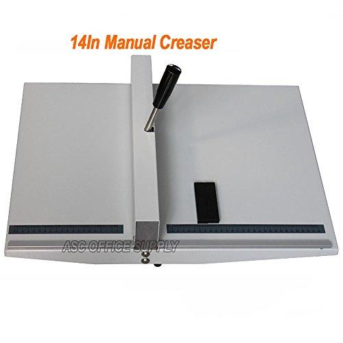 Manual 14' 360mm Scoring Paper Creasing Machine Scorer Creaser + 2Magnetic Block
