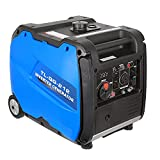 BILT HARD Quiet Inverter Generator 4000 Watt, RV Ready with Electric & Recoil Start, Gas Powered Outdoor Generator for Camping & Home Backup, EPA & CARB Approved