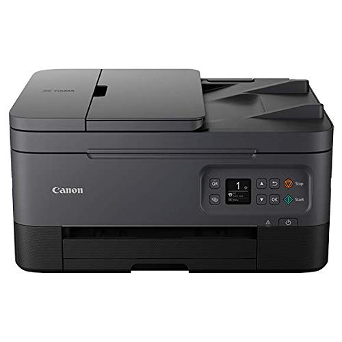 Canon PIXMA TR7020 Wireless Home Office All-in-One Inkjet Printer with ADF (Black) (4460C003)