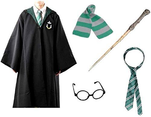 Inception Pro Infinite - Kostium karnawałowy dla dorosłych czarodzieja - sukienka - karnawał - rozmiar 170 - 175 cm - garnitur - pomysł na prezent na Boże Narodzenie i urodziny