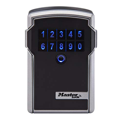 MASTER LOCK Caja fuerte para Llaves [BLUETOOTH] [Montaje mural] - 5441EURD - Caja de seguridad