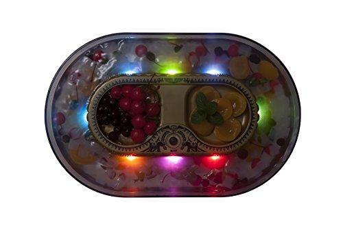 シービージャパン流しそうめん器子供用3リットルキラキラ光るLEDライト付きそうめんパーティcomtool