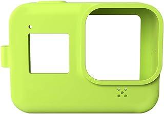 Kamerahülle aus Silikongel für GoPro Hero 8 (HERO8 Black) Action Kamera, Schutzhülle, Gummi, weich, Grün