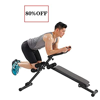 UAMSISTE Workout Utility Bench Adjustable/Folda...