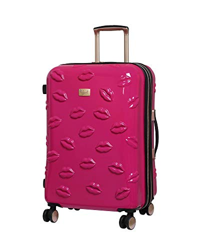 it Girl 26' Smooch 8 Wheel Hardside Expandable Spinner, Pink, One Size