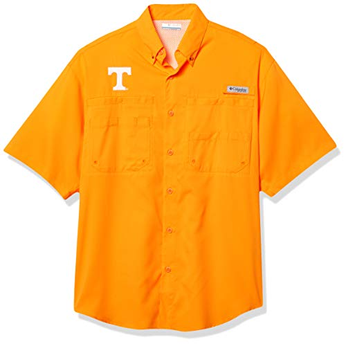 NCAA Tennessee Volunteers Men's Tamiami Short Sleeve Shirt, XX-Large, UT - Solarize