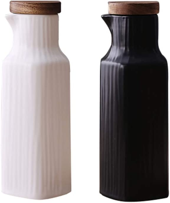 At the price of surprise Danmu 2Pcs a Set Black and Vinegar Sau Today's only Soy White Oil Ceramic