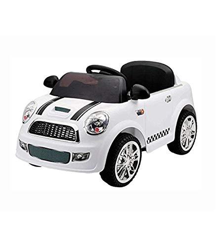 Motoor Kids Coche Eléctrico Infantil Mini Blanco 6V
