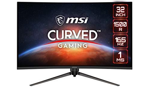 MSI Optix AG321CR Curved Gaming Monitor - 31.5 Inch, 16:9 Full HD (1920 x 1080), VA, 165Hz, 1ms,...