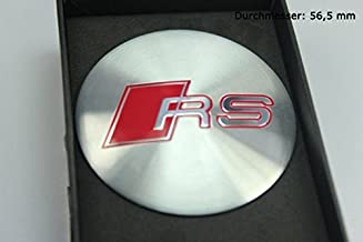 R174 RS 4 Piece Wheel Cap 3D Emblem Mobile car Sticker hub Cap hubcaps hub caps 56.5 mm