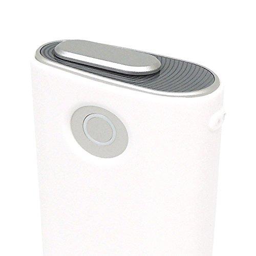 glo グロー ケース シリコン ホワイト カバー 電子タバコ 専用 耐衝撃 薄型 頑丈 シンプル コンパクト 軽量 ソフト ストラップホール付 【Provare】