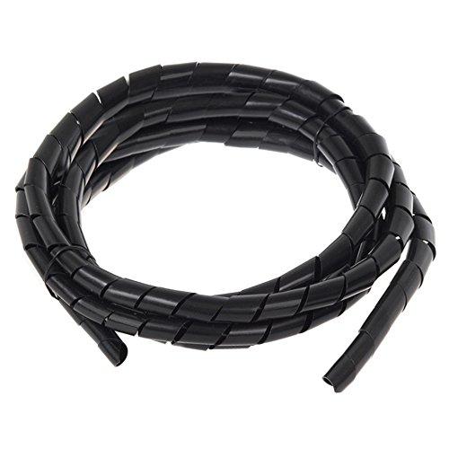 Maclean - Espiral para Cables Organizador Longitud: 3 Metros Diámetros: 6, 10,...