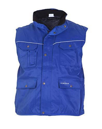 Hydrowear 049468 Epinal Bodywarmer Beaver, 50% polyester/50% coton, taille 3 X L, bleu roi