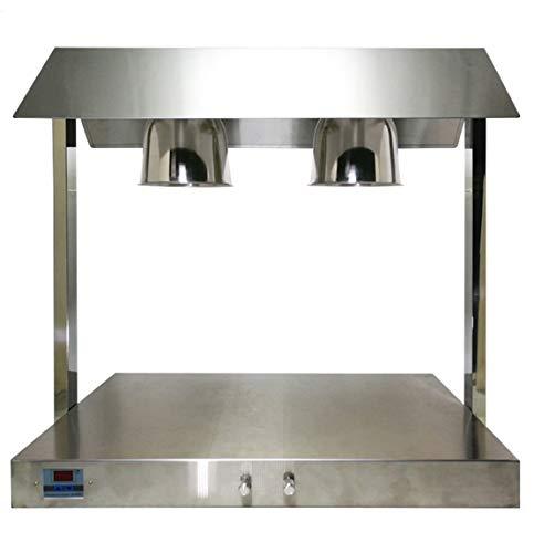 JFSKD Lebensmittel Wärmelampe Lampe Verstellbarer Einziehbare Erwärmung Lampe Sicherheits Heizung Niedriger Energieverbrauch Geeignet Für Buffets Hotel,A