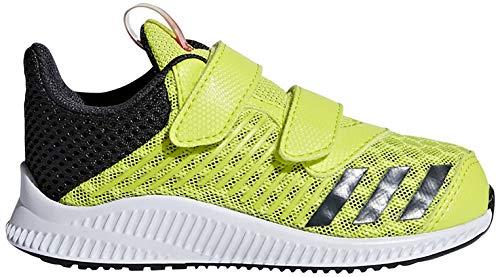 adidas Unisex-Kinder Fortarun Cool Cf I Laufschuhe, Gelb (Amarillo/(Ftwbla/Carbon/Ftwbla) 000), 24 EU