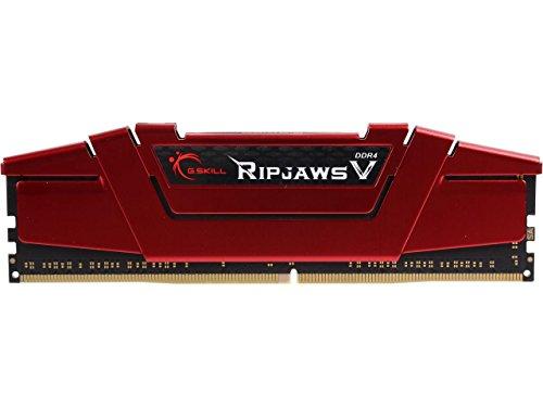 G.Skill 8GB Ripjaws V Series DDR4 PC4-21300 2666MHz for Intel Z170 Platform Desktop Memory Model F4-2666C15S-8GVR