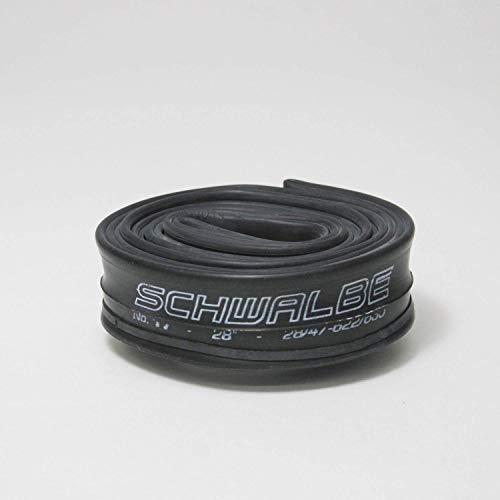 Schwalbe Unisex– Erwachsene Fahrradschlauch AV17 28/47-622/635 EK AGV 40 mm Schlauch, schwarz, 28 x 1 1/8-1.75