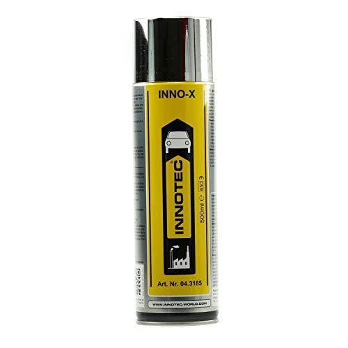 Innotec INNO-X, Reinigungs- und Glanzmittel für Edelstahl, Chrom, Alu, 500 ml Sprühdose
