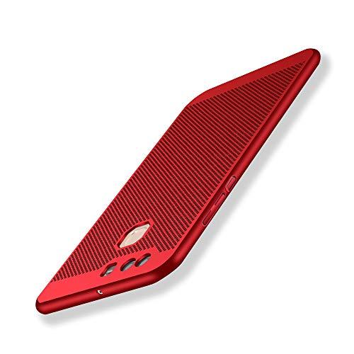 Funda Huawei P9, Ultra-Delgado Disipadores de Calor Carcasa Anti Caída Totalmente Protectora Caso de Plástico Duro Cover Case