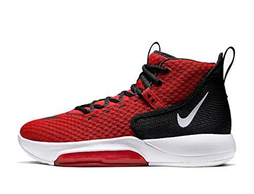Nike Zoom Rize TB, Scarpe da Fitness Uomo, Multicolore Rosso University Red Bianco Nero 600, 40.5 EU