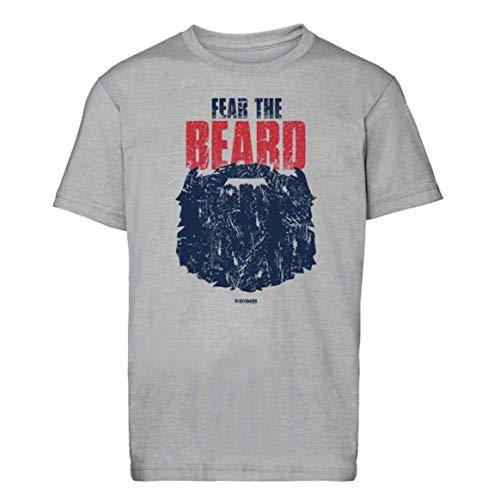 Scallywag® Eishockey T-Shirt Fear The Beard I Größen S - 3XL I A BRAYCE® Collaboration (offizielle Cody Lampl #32 Collection) (XL)