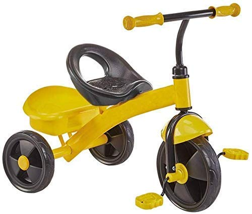 CCSMT Children's Training Vehicle Children's Tricycle Baby Carriage Balance Bike Tricycle Baby Pedal Bike Light Riding Toys Portable Seat Best for Gifts