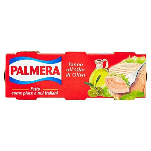 Palmera - Tonno all'Olio di Oliva, 3 Lattine da 80 g