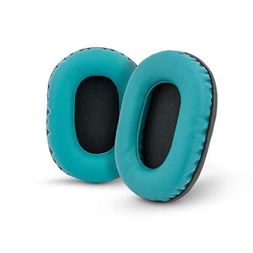Brainwavz Replacement Earpads for Sony MDR 7506, V6, CD900ST, Memory Foam Ear Pad & Suitable for Other On Ear Headphones, Turquoise