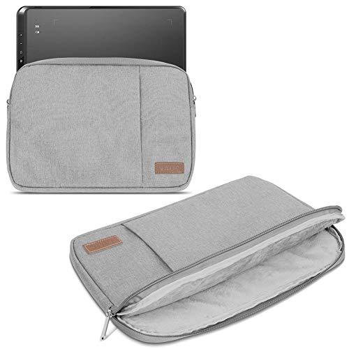 Zeichentablett Hülle kompatibel für XP-Pen Star 05 Tasche Grau Schutzhülle Tablet Cover Case, Farbe:Grau (Grey)
