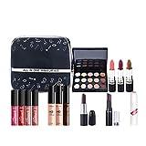 BHUJYG All in One Makeup Kit (Eyeshadow, Blushes, Powder, Eyeshadow Palette,Lipstick & More) Set