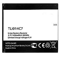 """電池パックAlcatel携帯電話用バッテリーFor Alcatel One Touch Pixi First 4024D/4024X 4.0"""" TLi014C7交換用の電池 互換内蔵バッテリー 3.7V 1000mAh/3.7Wh"""