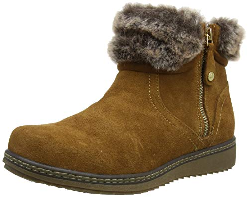 Hush Puppies Women's Ankle Boots, Brown Tan, 6