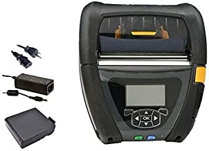 $527 » Zebra QLn420 Mobile Barcode Label Printer | Wireless Bluetooth and WiFi | 4 Inch, Belt Clip, Charger (Renewed)