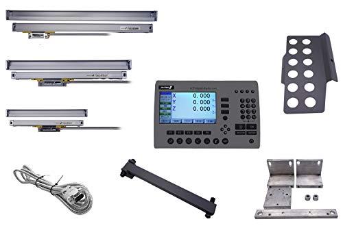 PAULIMOT 4-Achsen Glasmaßstab-Messsystem-Set für F207-V und F307-V