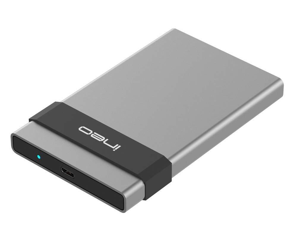 USB 3.1 Gen2 Type C Carcasa para Disco Duro Externo de 2.5: Amazon.es: Electrónica