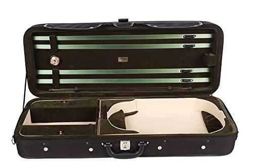 Bratschenkoffer Schaumstoff Premium 38-43 cm grün M-Case