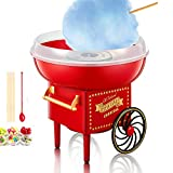 Best Home Cotton Candy Makers - Cotton Candy Machine for Kids, Red Vintage Cotton Review